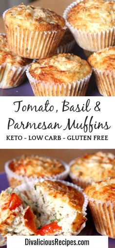 These keto savoury muffins are a filling and tasty breakfast on the go. Or great for a summer picnic! These keto savoury muffins are a filling and tasty breakfast on the go. Or great for a summer picnic! Egg And Bread Recipes, Almond Recipes, Low Carb Recipes, Healthy Recipes, Meat Recipes, Protein Recipes, Chili Recipes, Potato Recipes, Gluten Free Recipes