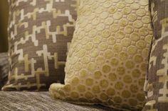 Beautiful pillows by Norwalk Furniture