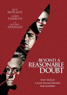 Beyond a Reasonable Doubt DVD (2009) Starring Michael Douglas; Directed by Peter Hyams; Starring Jesse Metcalfe & Amber Tamblyn; Anchor Bay Entertainment $4.98 on OLDIES.com