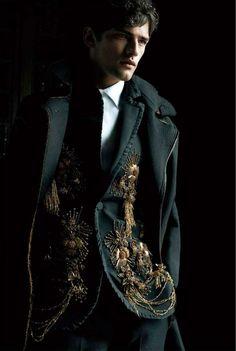 The Darkling, The Grisha Trilogy by Leigh Bardugo Sean O'pry, Gq, Mode Baroque, Character Inspiration, Style Inspiration, The Darkling, Image Mode, High Fashion, Mens Fashion