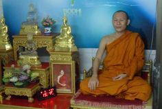 The monk who taught is how to meditate