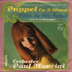 """Paul Mauriat Orchestra - """"Puppet on a String"""", instrumental cover version of the winning song Eurovision Song Contest 1967"""