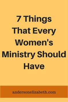 Is your women's ministry team thriving? Are they motivated, visionary and cohesive? Learn the 7 characteristics of a healthy team.