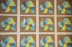 7-print step by step geometric painting