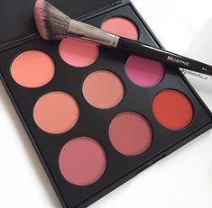 Morphe blushes- They have 2 blush palettes and I want them both!
