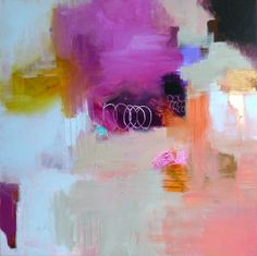 Pink Abstract....judy thorley