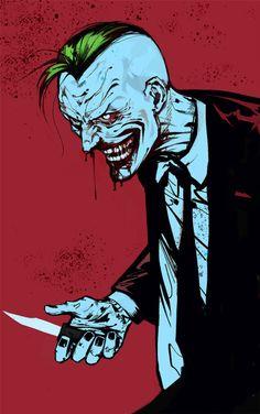 Comic Book Villains, Comic Book Characters, Joker Dc, Joker And Harley Quinn, Heath Ledger Joker, Batman Universe, Batman Art, Horror Art, Marvel Dc Comics