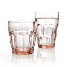 The familiar, casual shape of the classic bistro glass sits well in hand and is a great choice for everyday dining.  Specially tempered soda lime glass is cold and heat resistant, and because it has no lead it's 100% recyclable. Soda lime glassRecyclableDishwasher- and microwave-safeMade in multiple countries.