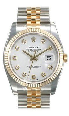 Men's Rolex Datejust Diamond Dial Jubilee $11179.50