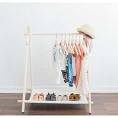 Mini Children's Clothing Rack