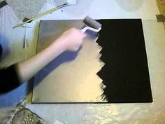 Splatter Painting Canvas - YouTube