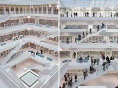 Stuttgart Library, Germany.