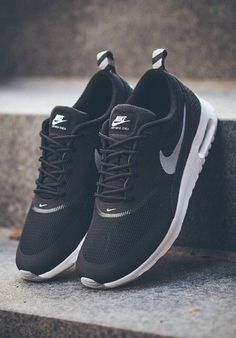 7f16660be6d Nike Air Max Thea  Black Soccer Shoes