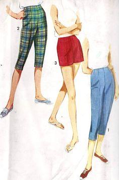capri pants 1950s - Google Search