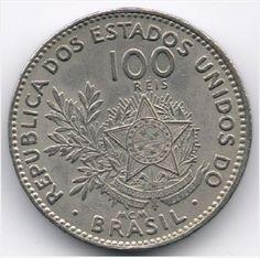 Brazil 100 Reis 1901 Veiling in de Brazilië,Zuid-Amerika,Munten,Munten & Banknota's Categorie op eBid België