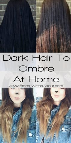 Diy ombre hair enhances falls gift of lowlights on top and summer how i turned my black hair to ombre at home brown to blonde ombre ombre hair at homediy solutioingenieria Image collections