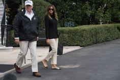 Melania's Blue Inauguration Heels | Melania Trump's Shoes | POPSUGAR Fashion Photo 1