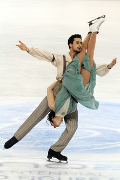 Federica Faiella and Massimo Scali. Emigrants - Nino Rota.  It is more expensive of Olympic champions dance! For me you are the best! Thank U!