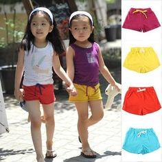 2-7Y-Children-Kid-Girl-Boy-Cotton-Sports-Shorts-Summer-Beach-Hot-Pants-Shorts **************************************** eBay: מכנסיים קצרים במגוון צבעים לילדות עד גיל 7 מ-11 ₪ + משלוח חינם!