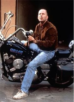 Posts about Bruce Willis written by Bruce Willis, Hard Movie, Artist Film, Youth Subcultures, Modern Street Style, Favorite Movie Quotes, Iconic Characters, Butches, Quentin Tarantino