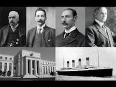 The Titanic (Olympic) was deliberately sunk to drown THE OPPOSITION TO THE FEDERAL RESERVE in 1912 & 1913 the federal reserve was created (sank April 15th now known as tax day in the U.S.)