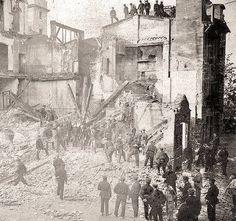 Elisa OrtizValencia antigua: Historia gráfica Ayer · Editado ·    Fotografía de 1907. Derribo en el Barrio de Pescadores.