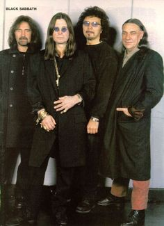 Black Sabbath. A dream of mine and my husbands to go to a Sabbath Concert with OZZY. Got tickets for the Aug 10th show in Philly. 3 more days!!!