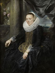 Margareta Snyders - Van Dyck c. 1620 - Anthony van Dyck - Wikimedia Commons