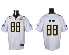 9ea25034a Bears Brian Urlacher jersey Nike Cowboys  88 Michael Irvin White 2016 Pro  Bowl Men s Stitched