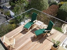 Frameless glass balustrade - Morris Fabrications Ltd - Architectural Metalworkers Decking Glass Balustrade, Frameless Glass Balustrade, Decking Handrail, Stairs Stringer, Steel Cladding, Glass Balcony, Stainless Steel Grades, Condo, Garden Entrance