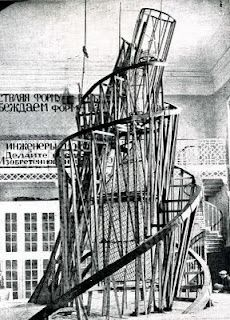 Tatlin's Tower - Vladimir Tatlin... Totally studied this piece this semester!!