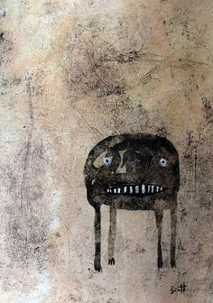 """Anxious Monster"" by scott bergey"