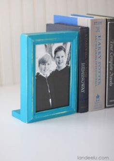 Photo Frame Bookends