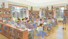 architectural rendering and illustration