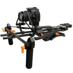 Opteka FFR-900 Motorized Remote Follow Focus & Zoom Controller with Shoulder Support Rig for DSLR Cameras & Camcorders