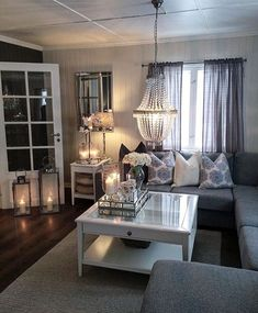 Living room ideas: Living room chandeliers you'll love