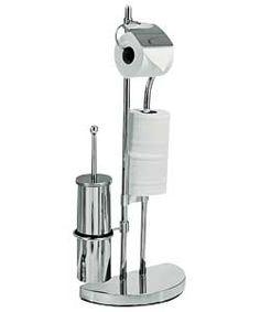 B Amp Q Cirque Chrome Effect Toilet Roll Holder W 172mm