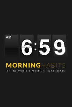 11 Morning Habits That Will Change Your Life (And Make You More Creative)