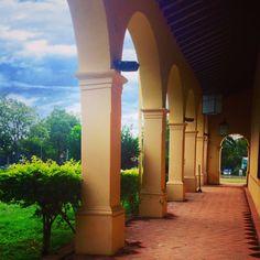 Corredores de la iglesia de Trinidad