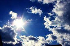sun on clouds - Google Search