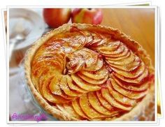Francia almás pite | Anna konyhája Apple Pie, Peanut Butter, Pancakes, Anna, Vegetarian, Breakfast, Food, France, Morning Coffee
