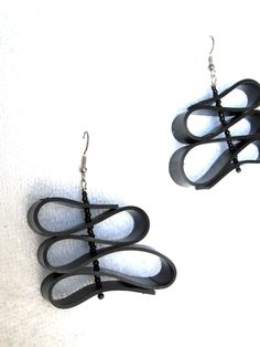 Upcycled Recycled / Bicycle Inner Tube / Salvaged by GroovyGarbage, $24.00