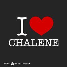 Repin if you love Chalene!