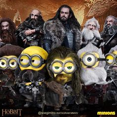 Who is who in the Hobbit Minions.