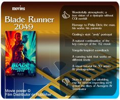 Blade Runner 2049 review.