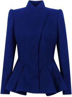 Wrenn Wool Peplum Jacket