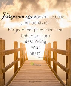 Forgiveness doesn't excuse their behavior. Forgiveness prevents their behavior… Forgiveness doesn't excuse their behavior. Forgiveness prevents their behavior from destroying your heart ~~❤~~ Great Quotes, Quotes To Live By, Me Quotes, Motivational Quotes, Inspirational Quotes, Jesus Quotes, Poetry Quotes, Wisdom Quotes, The Words