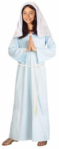 Mary Child Blue Costume Sizes: Medium 8-10, Small 4-6 and Large 12-14