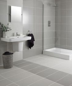 Regal Grey Polished Tile™ | Topps Tiles - dull but would work
