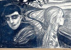 Løsrivelse by Edvard Munch